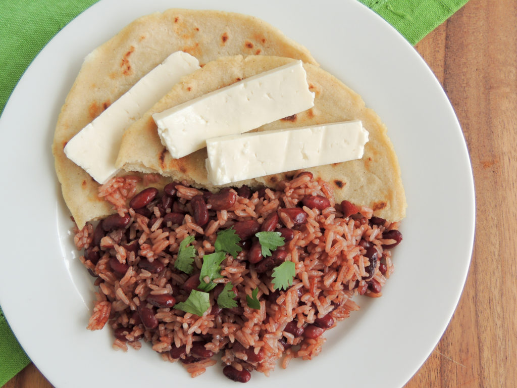 Gallo pinto nicaraguan rice beans casablanca cooks its rare to find a meal versatile enough to be eaten for breakfast lunch or dinner this is gallo pinto a simple and delicious rice and bean dish and forumfinder Choice Image